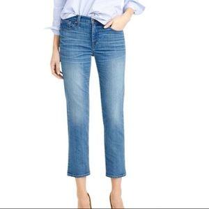 J. Crew Vintage Cropped jeans 26